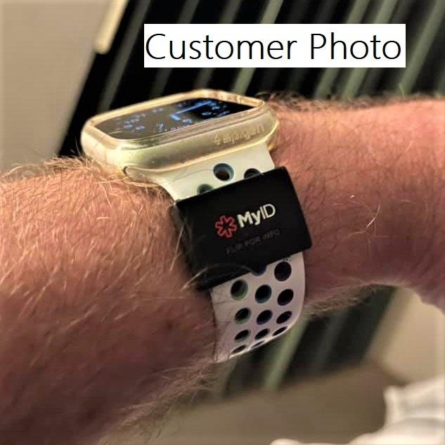 MyID Sleeve Black Customers Photo