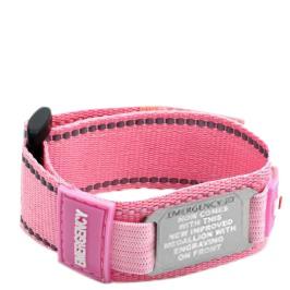 Sports ID wristband pink