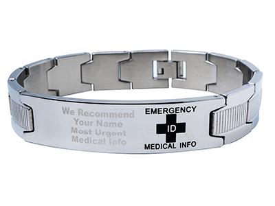 Emergency ID Scottsdale Style bracelet
