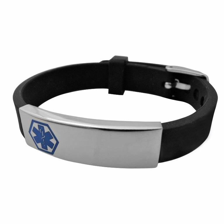 medical alert id wristband