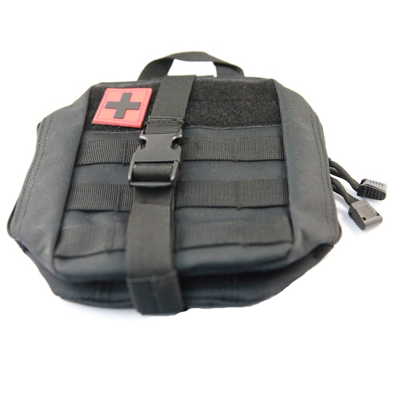 Emergency ID Tactical style medication bag