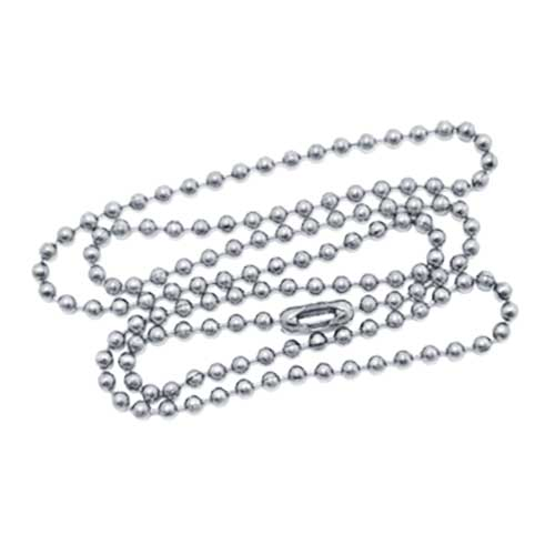 60cm ball chain necklace