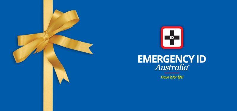 Emergency ID medical alert gift certficate