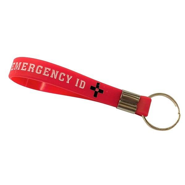 Emergency ID Key Tag