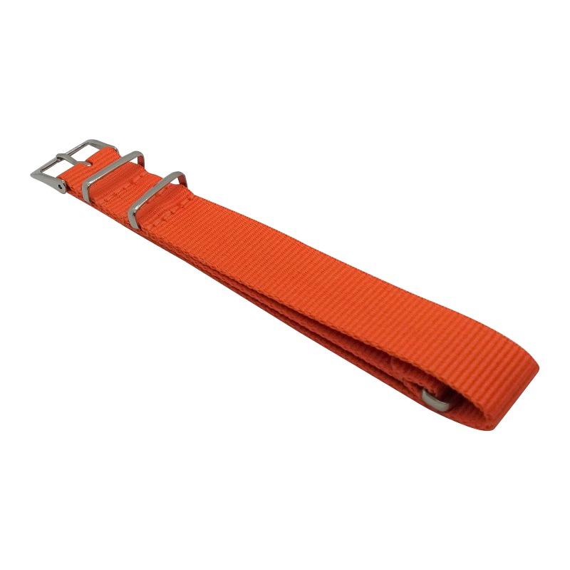 Nylon Watchband Style 4 - Orange