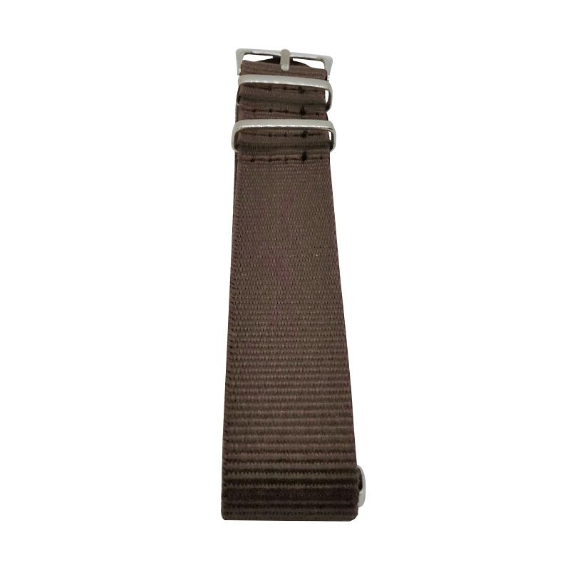 Nylon Watchband Style #13 - Brown