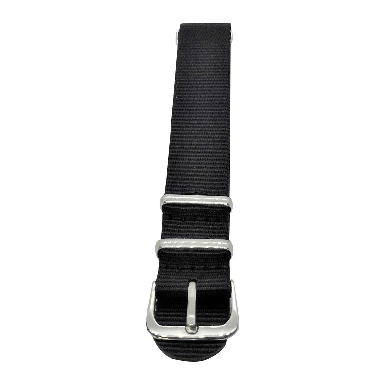Nylon Watchband Style #15 - Black