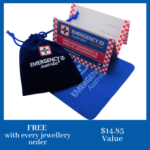 FREE items with every Emergency ID medical alert jewellery orders