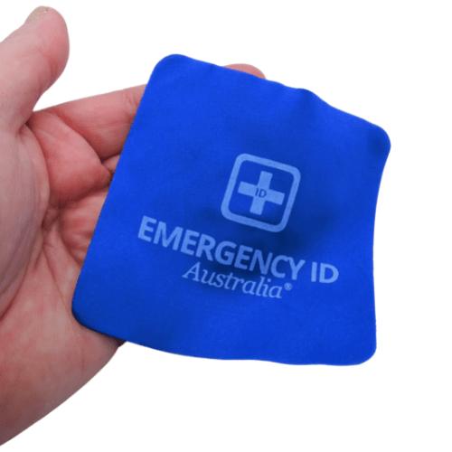 Jewellery Cleaning Cloth Emergency ID Australia 2