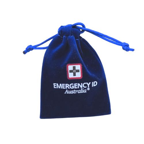 Jewellery Drawstring Gift Bags Emergency ID Australia 3