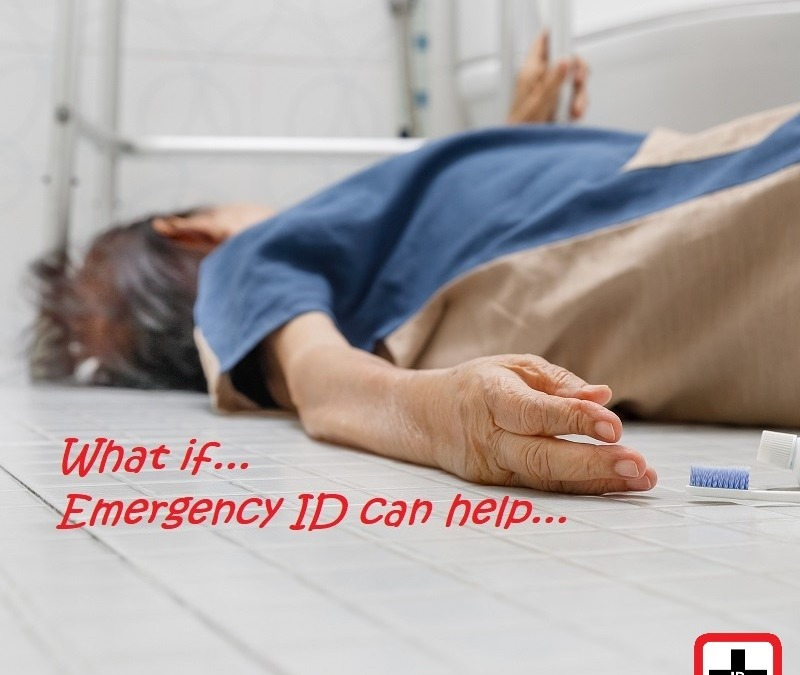 Do you have elderly parents you are concerned about? Emergency ID can help...