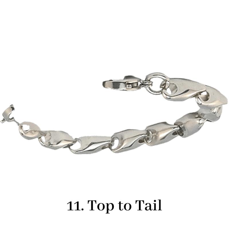 11. Top to Tail Bracelet Chain Emergency ID Australia