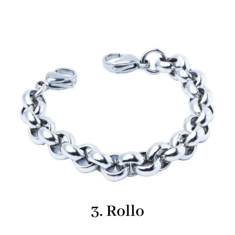 3. Rollo Bracelet Chain Emergency ID Australia