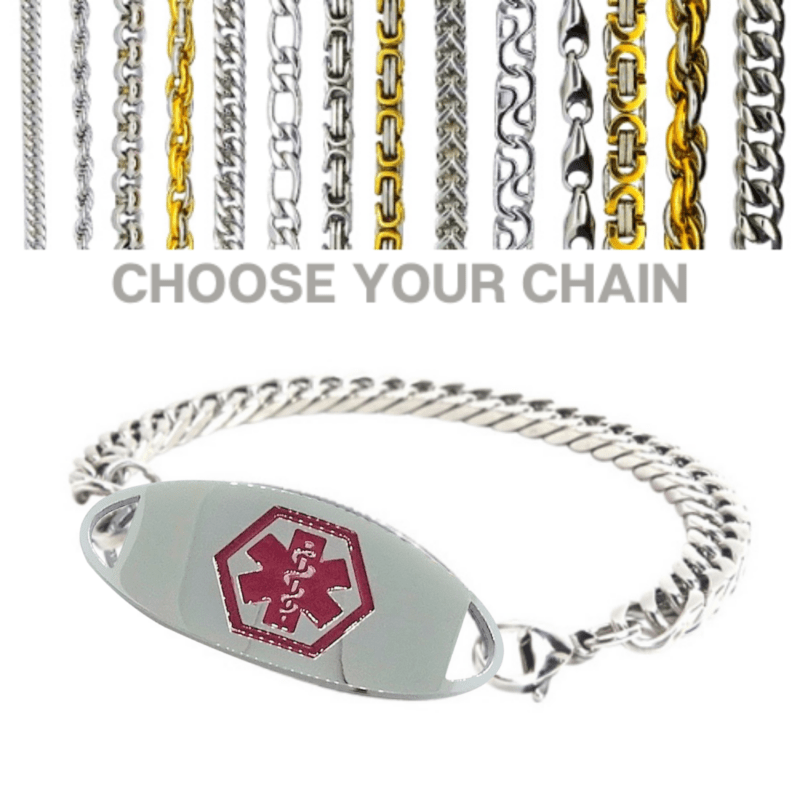 Sorell Style with medium curb chain