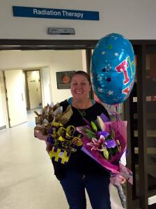 Thank you gifts for the team at Launceston General Hospital Radiation Clinic