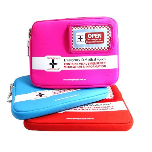 Emergency ID Medication Bags