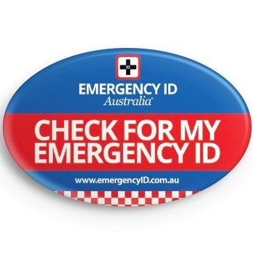 Emergency ID Signs and Stickers