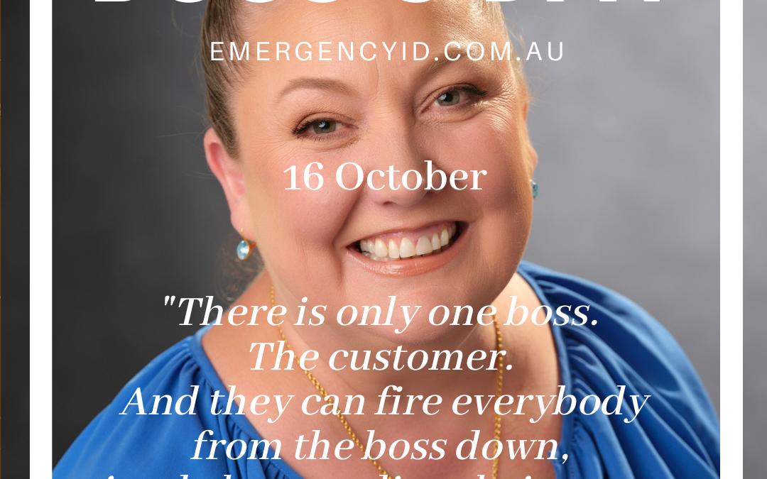Boss's Day 16 October 2021 Nicole Graham Founder & Director