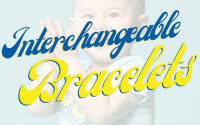Interchangeable Emergency ID Bracelets