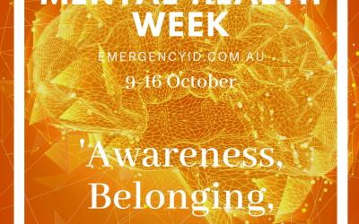 Mental Health Week 9-16 October 2021