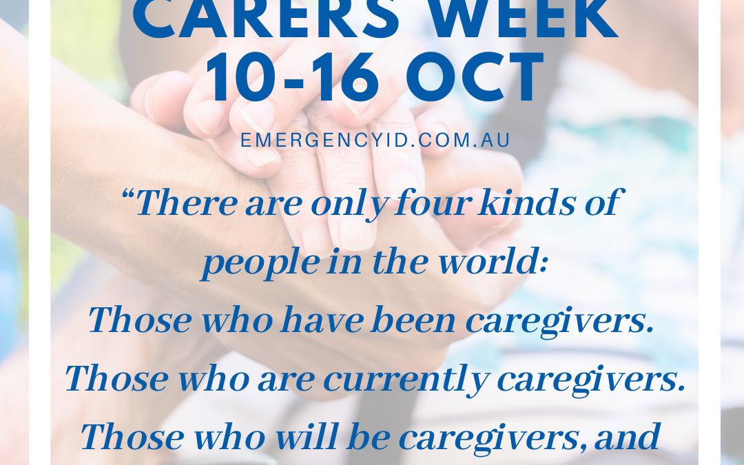 National Carers Week 10-16 October 2021