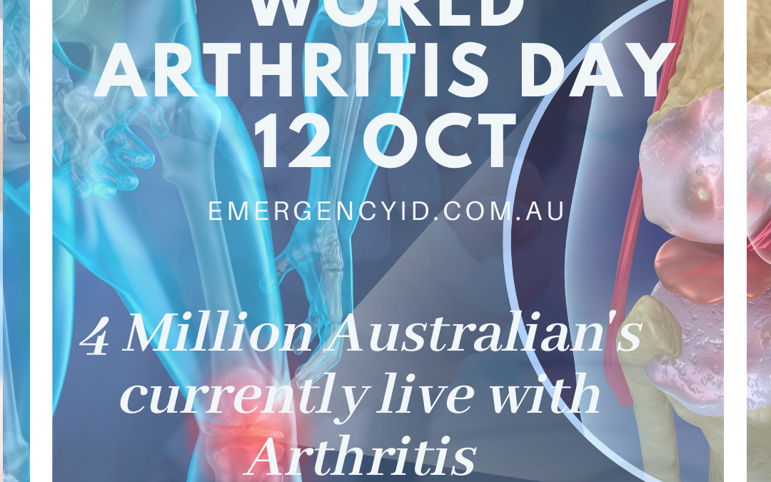 World Arthritis Day 12 October 2021